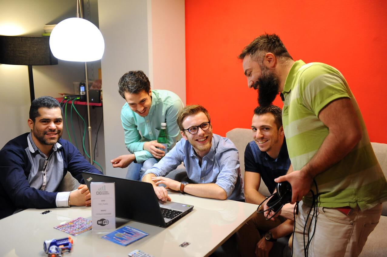 CIOse equipe ordinateur