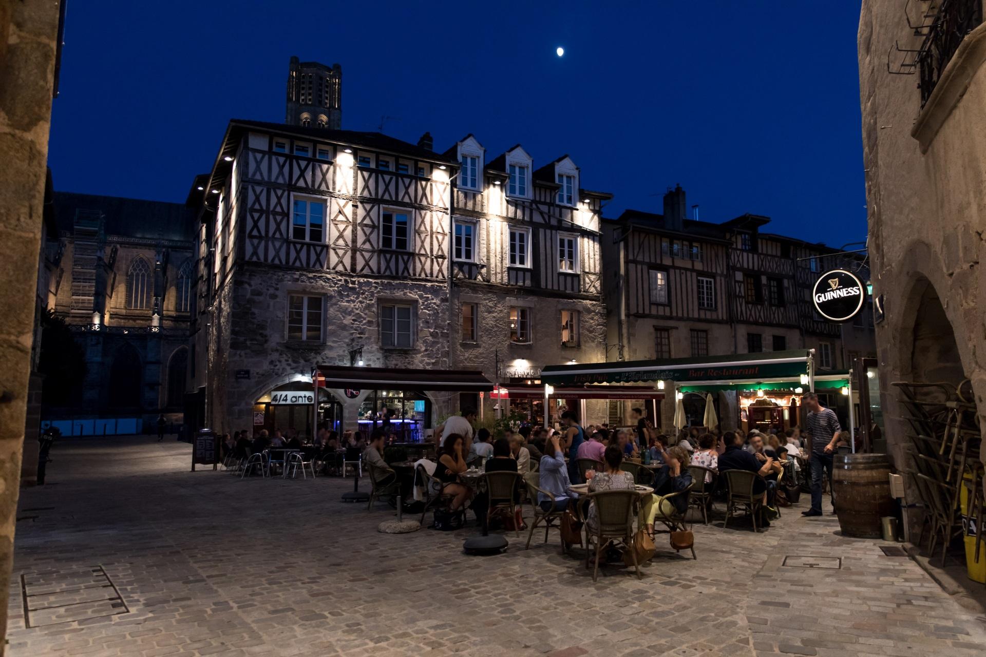 Limoges vie nocturne bars