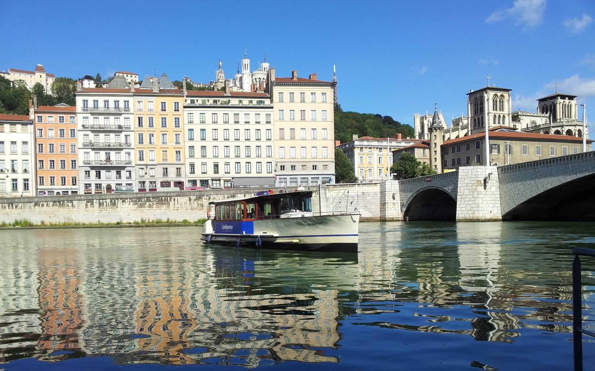 Lyon quais rhone