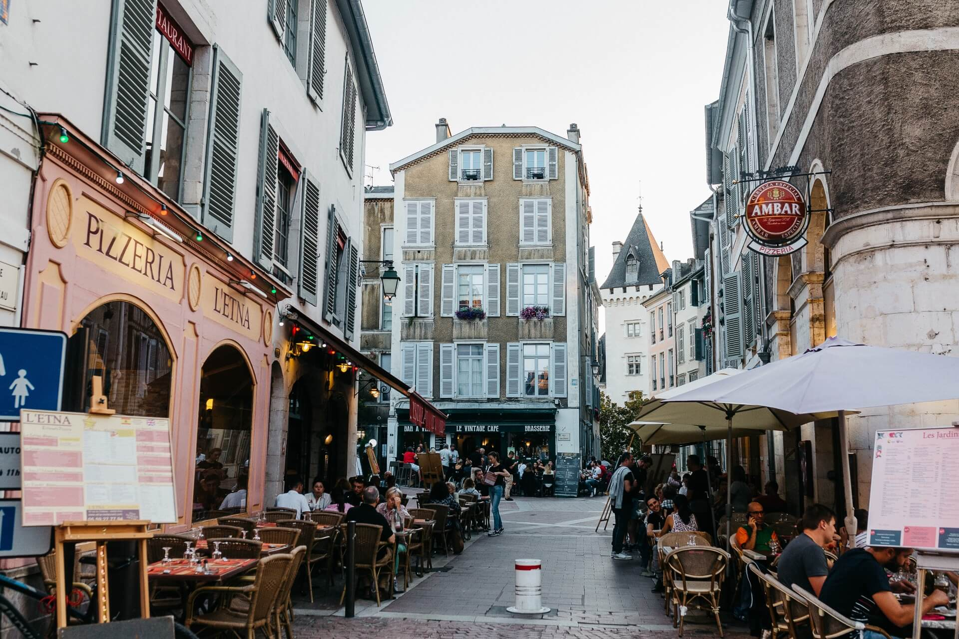 Pau centre ville