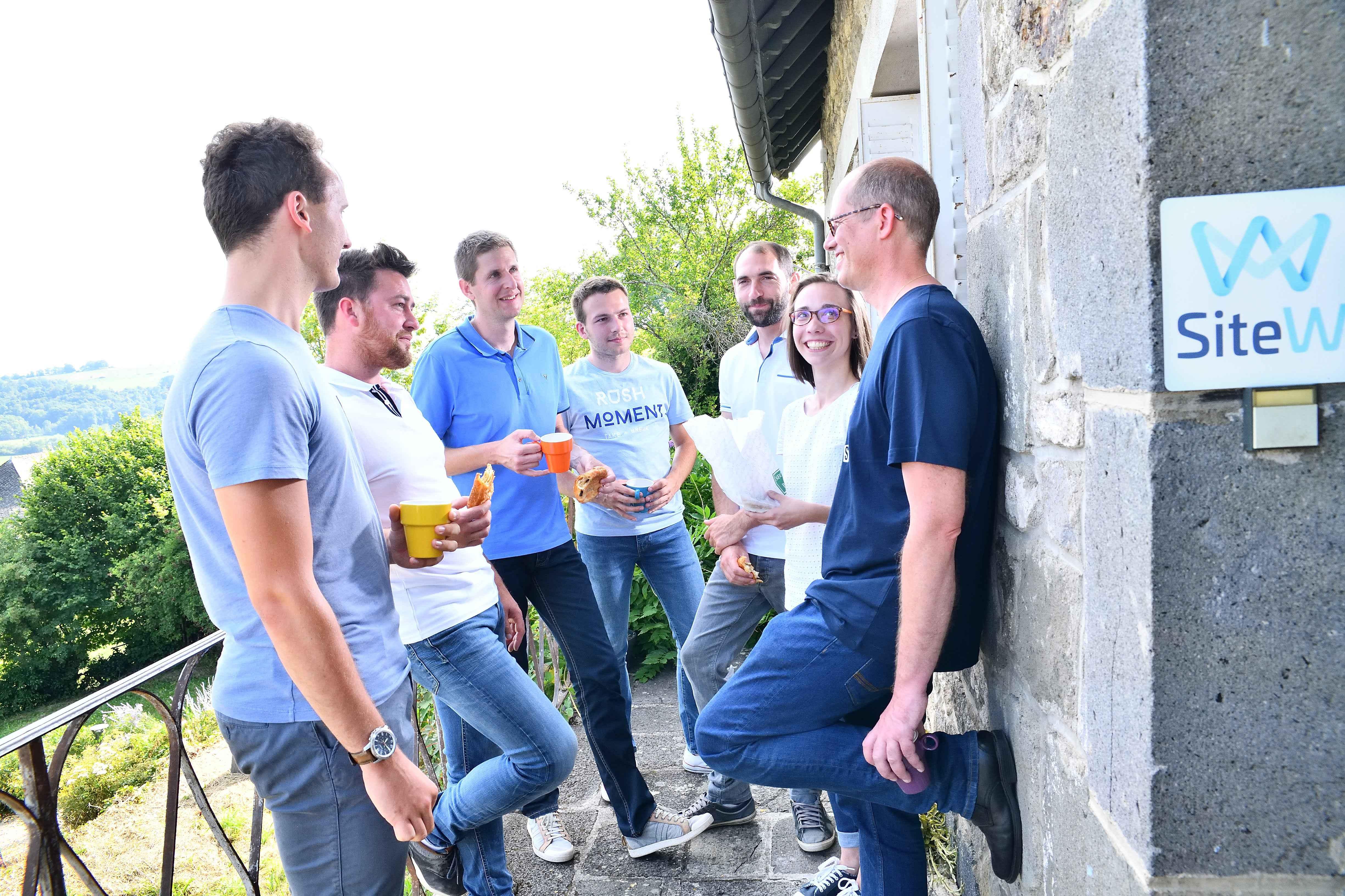 sitew team terrasse